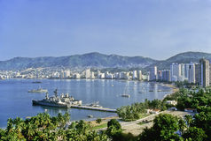 Залив Акапулько Стоковая Фотография