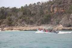 Залив Бахи De Las Aguilas Eagles Стоковые Фото