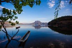 Залив богини озера Lugu стоковое фото