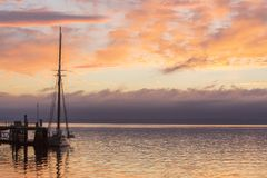 Залив Вашингтон Townsend порта стоковые изображения rf