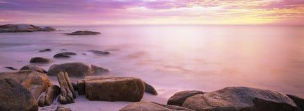 залив горит Тасманию Стоковые Изображения RF