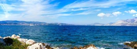 Залив Греции-Kefalonia Argostoli1 стоковое фото rf
