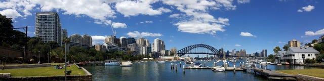 Залив лаванды в Сиднее, Австралии стоковые изображения rf