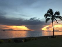 Залив Манилы Стоковое Изображение