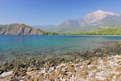 Залив на Phaselis, Турция Стоковое Изображение RF
