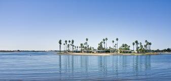 Залив полета, San Diego, Калифорния Стоковые Изображения