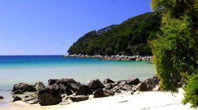 залив расшивы 2 abel tasman Стоковое Фото