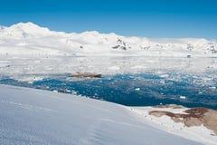 Залив рая в Антарктике Стоковые Изображения RF