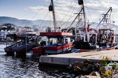 Залив рыболовов Yalova Турции Стоковое фото RF