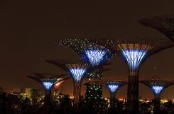залив садовничает singapore Стоковые Изображения RF
