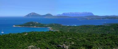 залив Сардиния Стоковые Изображения RF