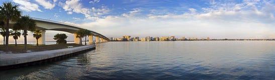 залив свободного полета городской Стоковое Изображение RF