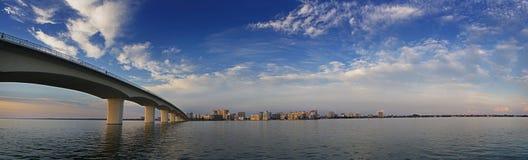 залив свободного полета городской Стоковое Изображение