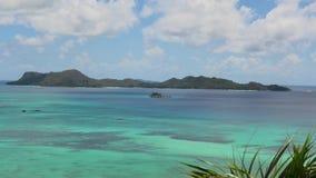 Залив Сейшельских островов Cote d'Or видеоматериал