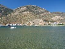 залив спокойный стоковое изображение