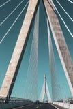 Залив столбцов моста Кадис, Кадис стоковые изображения rf