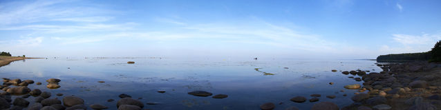 Залив Финляндии Стоковое фото RF
