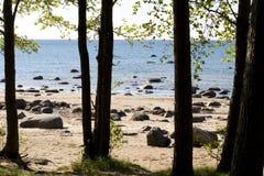 залив Финляндии Стоковые Фотографии RF