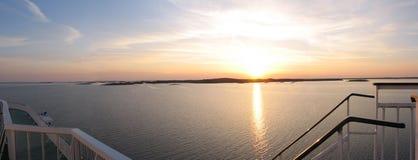 залив Финляндия Стоковые Изображения