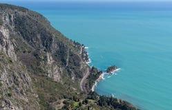 Залив Beaulieu, французской ривьеры стоковое фото rf
