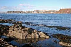 залив bigbury Стоковое Изображение RF