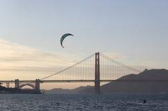 залив francisco san windsurfing Стоковое Изображение RF