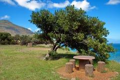 Залив Hout, место для отдохновения, Южная Африка Стоковые Изображения RF