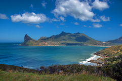 Залив Hout, Южная Африка Стоковые Фотографии RF