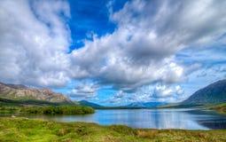 Залив Inagh, Голуэй, Ирландия стоковое фото rf