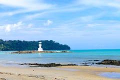 Залив Lak Khao, Угрызение-nga, Таиланд Стоковая Фотография