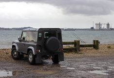 залив Land Rover Стоковые Фотографии RF