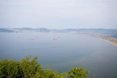 Залив Nakhodka Стоковое фото RF