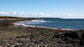 Залив Perouse Ла Мауи утесистый Стоковое Изображение