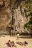 Залив Railay Стоковые Фотографии RF