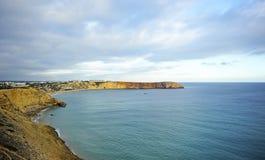 Залив Sagres, пляжи Алгарве, Португалии Стоковые Фото