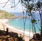 Залив Sancho - Фернандо de Noronha/Бразилия стоковое фото rf