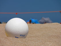 залп пляжа шарика Стоковое фото RF