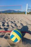 залп пляжа Стоковые Фото