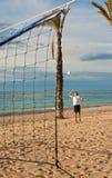 залп пляжа Стоковые Фотографии RF