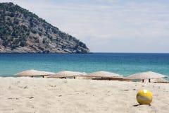 залп рая пляжа шарика Стоковая Фотография RF