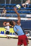 залп турнира lausanne fivb cev 2009 пляжей Стоковое Фото