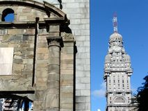 залп Уругвай montevideo здания Стоковое Изображение RF