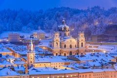 Зальцбург, Австрия: Kollegienkircheor коллигативная церковь стоковое фото rf