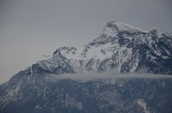 Зальцбург, гора Стоковое фото RF
