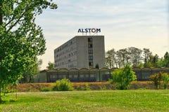 Зальцгиттер, более низкая Саксония, Германия, 10 05 2016, управление Алстома Германии стоковая фотография rf