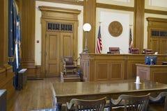 зал судебных заседаний аппеляционного суда Стоковые Фото