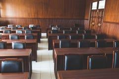 Зал судебных заседаний судебной системы стоковая фотография rf