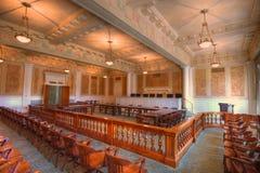 зал судебных заседаний стоковое изображение rf