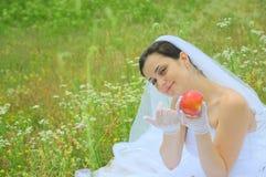 заманчивость портрета s кануна невесты Стоковые Изображения