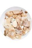 замаринованные грибы Стоковое фото RF